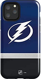 Skinit Impact Phone Case for iPhone 11 Pro - Officially Licensed NHL Tampa Bay Lightning Alternate Jersey Design