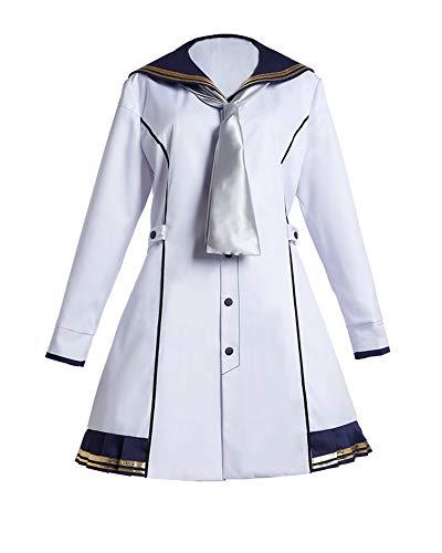 艦隊これくしょん -艦これ- 雪風 改二 コスプレ衣装 (男性3XL)