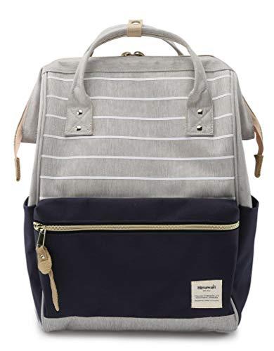 Himawari Travel School Backpack with USB Charging Port 15.6 Inch Doctor Work Bag for Women&Men College Students(XK-01#-L)