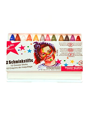 Jofrika Schminkstifte, 12er