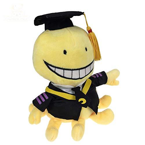 xinyawl Juguete de Felpa Lindo Profesor de Pulpo Felpa Animales de Peluche Animales de Dibujos Animados muñecas graduados niños Regalos