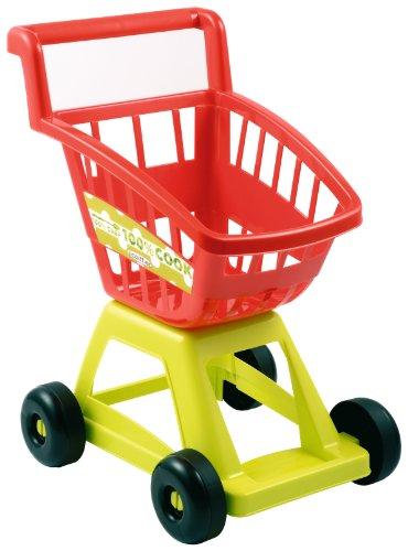 Jouets Ecoiffier – 1226 - Chariot de supermarché vide pour enfants 100 % Chef – Jeu d'imitation – Dès 18...
