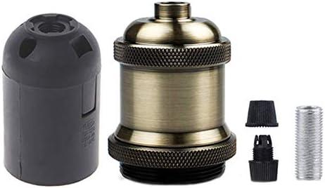 Newest Lamp Socket E26E27 Vintage Industrial Edison Hanglamp Socket Base TypeE27 ColorBronze