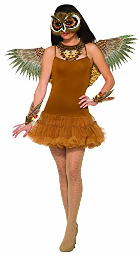 Forum Novelties Women's Non-Feathered Owl Wings, As Shown, One Size - http://coolthings.us