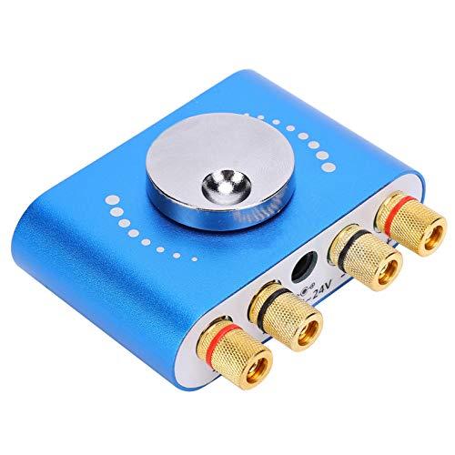 Jazar Amplificador de Potencia estéreo, Amplificador de Potencia de Control de aplicación móvil 20W + Amplificador de Potencia de 20W para teléfonos Inteligentes para tabletas