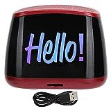 Mini altavoces portátiles con Bluetooth, altavoz inalámbrico con sonido envolvente para la salida independiente de los canales izquierdo y derecho, altavoz de subgraves para teléfono portátil(rojo)