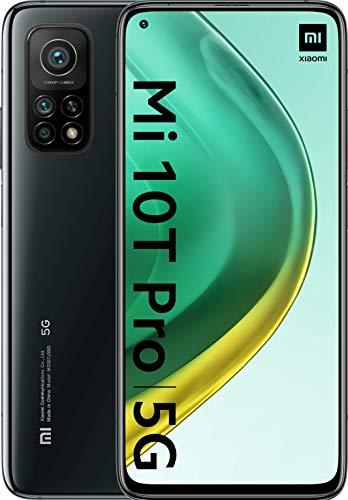 "Xiaomi Mi 10T Pro (Pantalla 6.67"" Fhd+ Dotdisplay, 8Gb+128Gb, Cámara de 108Mp, Snapdragon 865 5G, 5.000Mah Comcarga 33W) Negro [Versión Española]"