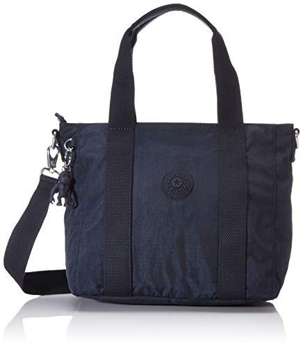 Kipling Asseni Mini Women's Tote, Black (Blue Bleu), 33x21x14...