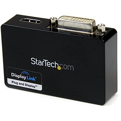 STARTECH.COM Adatattore Scheda Video Esterna Doppio Monitor USB 3.0 a HDMI e Dvi