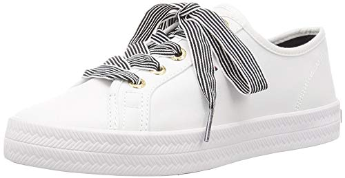 Tommy Hilfiger Damen Essential Nautical Sneaker, Weiß (White Ybs), 39 EU