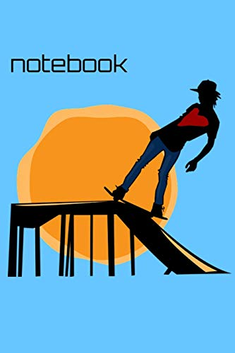 Notebook: Skateboarding Homework Book Notepad Notebook Composition and Journal Gratitude Diary