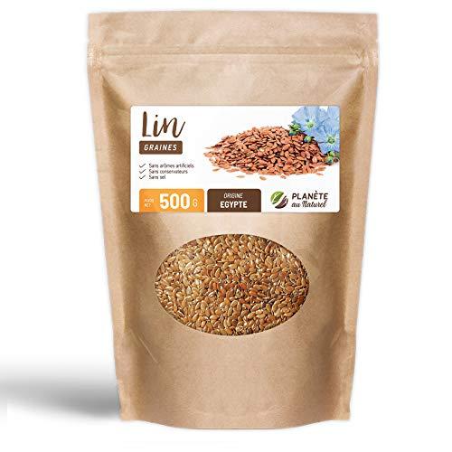 Graine de Lin - 500 g - Sachet