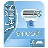 Gillette Venus Smooth Women's Razor Blades - 4 Refills