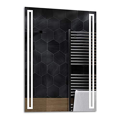 ALASTA® Miroir   LED Miroir Mural   80x200cm   Roma   Nouvelle Génération Miroir avec Accessoires   Blanc Froid/Chaud en Option