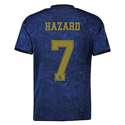 19-20 Season Men Soccer Jersey Real Madrid Away Football Shirt # 7 Hazard Soccer Uniform