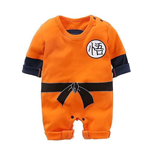 Neugeborene Wukong Overalls Baby Schöne Langarm Cartoon Spielanzug Baby Kleidung