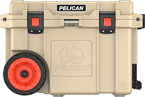 Pelican Elite 45 Quart Wheeled Cooler (Tan)