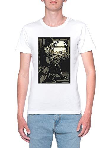 Delavi Ellie T-Shirt Uomo Bianco T-Shirt Men's White