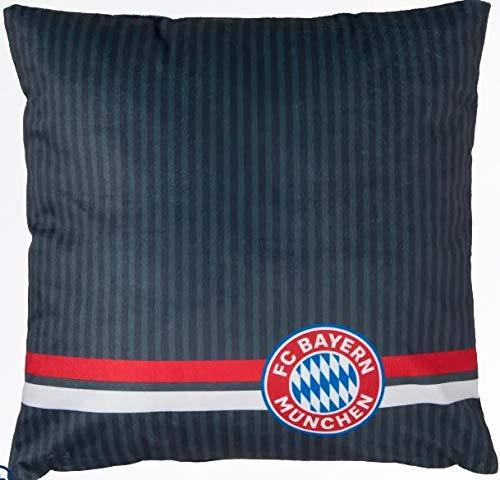 Bayern München compatibele kussen + sticker München Forever, FCB Pillow knuffelkussen sofakussen schapenkussen 24377