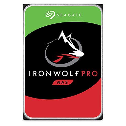 Seagate IronWolf Pro HDD, NAS interne Festplatte 4 TB, 3.5 Zoll, 7200 U/Min, CMR, 128 MB Cache, SATA 6 GB/s, silber, inkl. Datenrettungs-Service, ST4000NEZ025, FFP