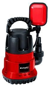 Einhell GC- SP 2768 - Bomba de aguas sucias (270W, capacidad de 6.800 l/h, profundidad max. de inversión 5m, conexión de manguera 47.8mm) (ref.4170442)