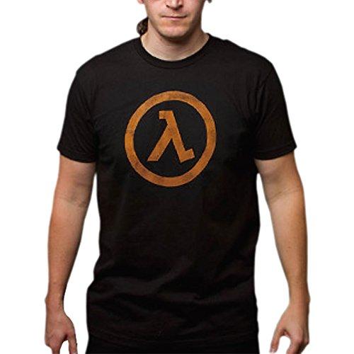Half-Life 2 Lambda T-Shirt zum Ego Shooter Game Herren T-Shirt Baumwolle schwarz - S