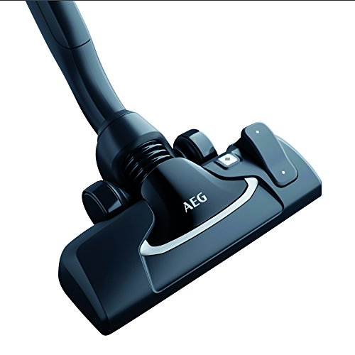 AEG AZE140 Precision Flow Kombidüse (Reinigung von Böden und Teppichen, einfache Handhabung, schonende Reinigung, Teppichmodus, optimale Staubaufnahme, leise, für 36mm Ovalrohr, schwarz)