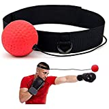 Boxing Reflex Ball with Adjustable Headband,Reflex Ball Reaction Ball Boxing,Training Speed Ball for Boxing,Training Magic Ball Boxing Training Equipment and Combat Sports