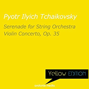 Yellow Edition - Tchaikovsky: Serenade for String Orchestra & Violin Concerto, Op. 35