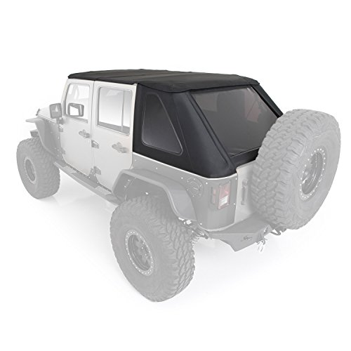 Smittybilt 9083235 Bowless Combo Soft Top