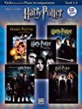 Harry Potter Vocal Solos – Arreglados para violonchelo – Piano – con CD [de la fragancia/Alemán]