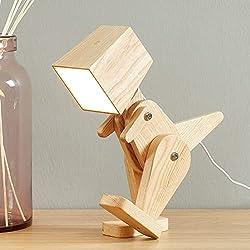 4. HROOME Kids Dinosaur Table Lamp