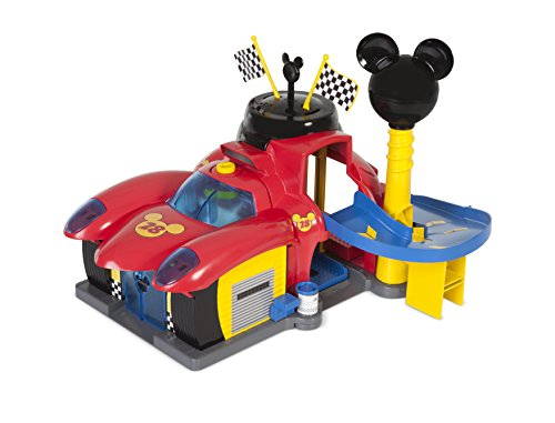 Micky Maus Flinke Flitzer 182493MM2 Disney Junior Micky Roadster Racers Garage