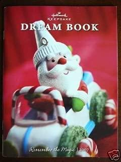 2007 hallmark dream book