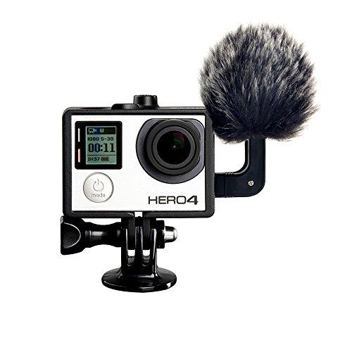 LVM6 Stereo Micrófono Con für GoPro Hero3, Hero3 +, Hero4