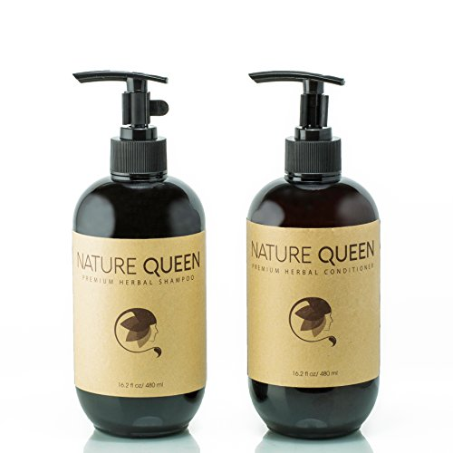 NATURE QUEEN Herbal Shampoo + Conditioner Set Review