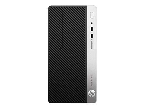 HP ProDesk 400 G6 Microtower (7EM13EA) PC-System, schwarz/Silber, Windows 10 Pro