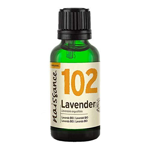 Naissance Organic Bulgarian Lavender (Lavandula Angustifolia) Essential Oil (no. 102) 30ml -...