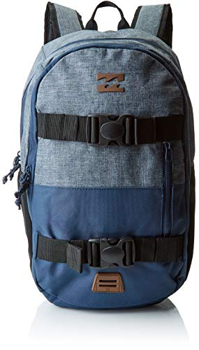 Billabong Command Skate Pack Mochila Tipo Casual, 18 cm, 23 litros, Dark Slate Htr Azul