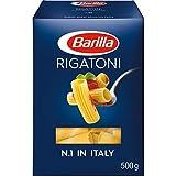 Barilla 10000529 pasta Rigatoni - Pasta (Rigatoni, Pasta corta, 13 min, CE, 500 g)
