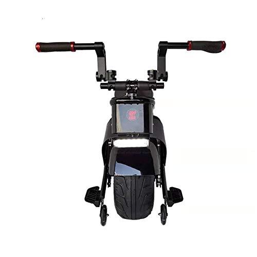 GJZhuan Elektro-Einrad Selbst Balancing Elektro Einrad, 1500W Naben-Motor EIN Rad-Elektro-Scooter Mit Tubeless Straße Tire Tension Bar Folding Fußstützen (Size : 28KM)