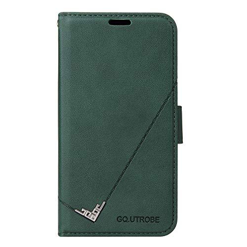 Hülle für Galaxy Note 8 Hülle Handyhülle [Standfunktion] [Kartenfach] Schutzhülle lederhülle flip case für Samsung Galaxy Note8 - DEYTB010271 Grün