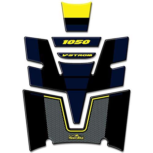 Adhesivo 3D Protector de Depósito Compatible Con Suzuki V-Strom 1050 2020 Amarillo