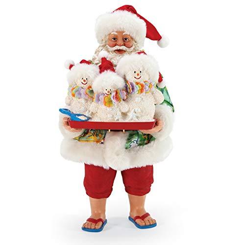 Department 56 Possible Dreams Santa by The Sea Sandy Clauses Figurine, 10.5 Inch, Multicolor