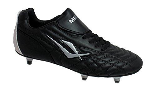 Mirak - Chaussures de Football - Garçons (37 FR) (Noir)