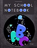 My School Notebook: Notebook back to school. Journal of 200 lined pages 8.5x11 inches