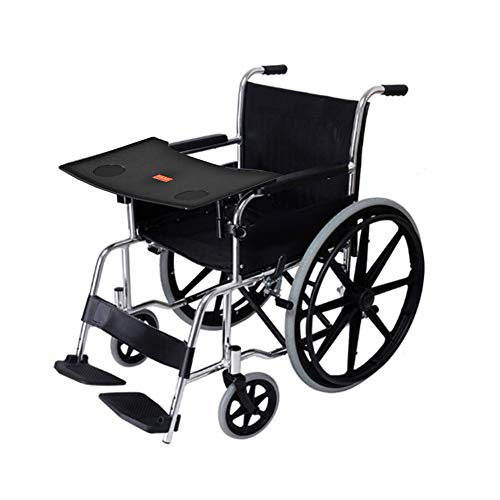 Wheelchair Lap Tray, Cup Holder Durable Wheelchair Table for Writing, Reading, and Eating Detachable Tray Economy Wheelchair Accessories