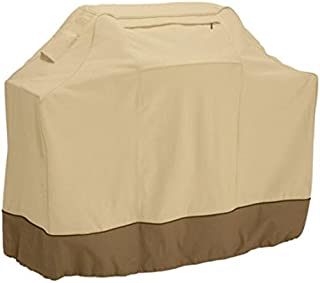 BBQ Grill Oxford Cloth Cover Anti-waterbeads Heat For Resistance Dust Barbecue Protection(Beige)