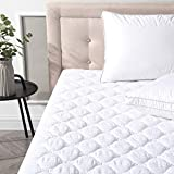 Classic Brands MP0002-1160 Quilted Waterproof Mattress Protector, King, White