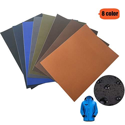 Selbstklebende Patch-Sticker - Nylon Patch, 8 Farb-Anzüge, Geeignet Für Glatte Stoff Rucksäcke, Zelte, Regenschirme, Regenschirme Und Andere Nylon-Materialien.(8color)